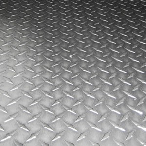 Лист рифленый алюминиевый